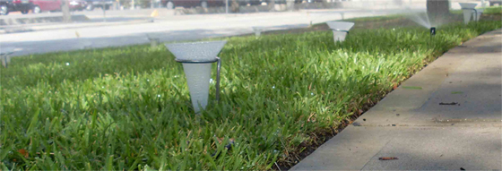 Sprinkler Irrigation Water Audit -