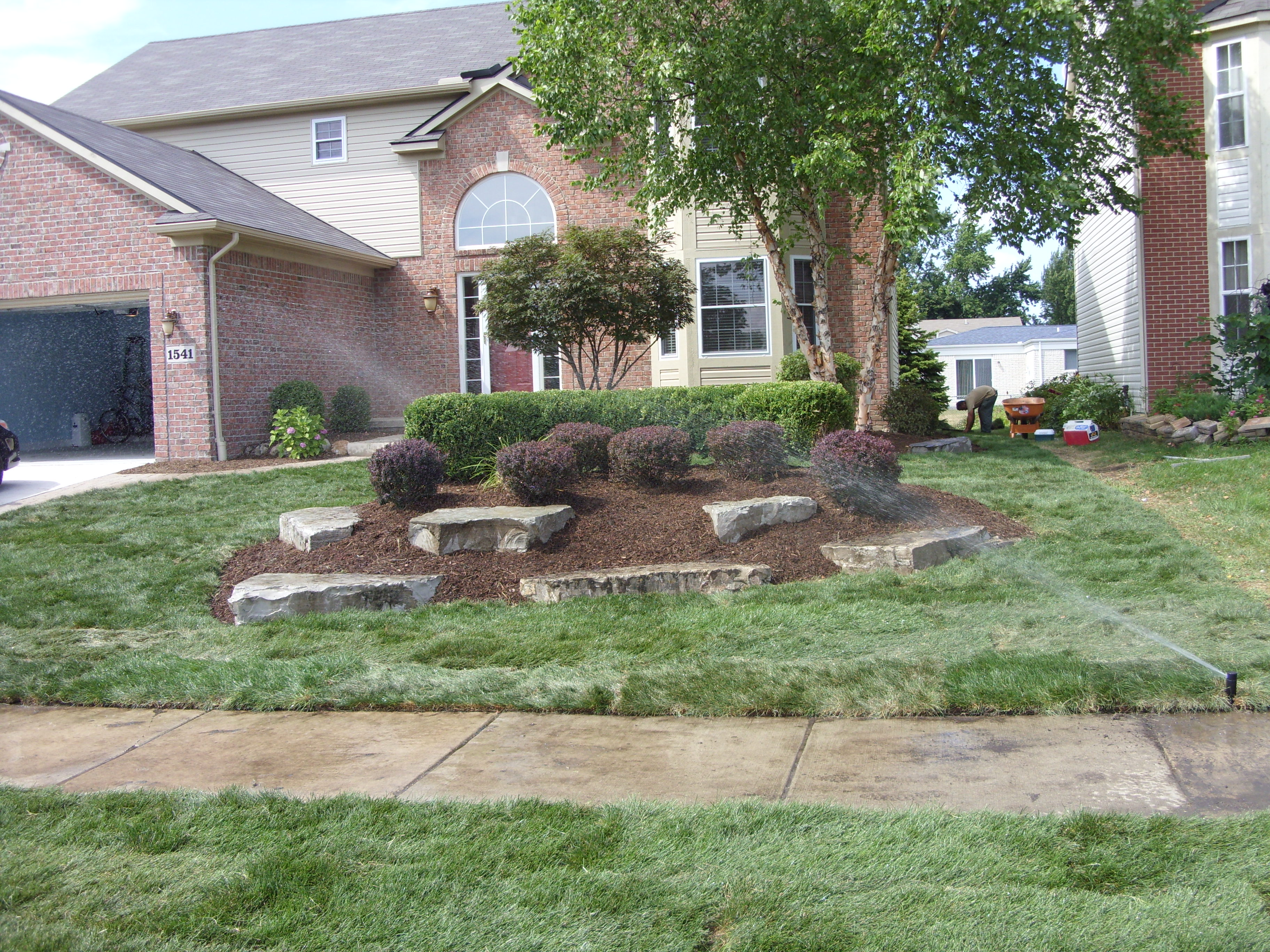lawn sprinkler total lawn care inc full lawn maintenance lawn
