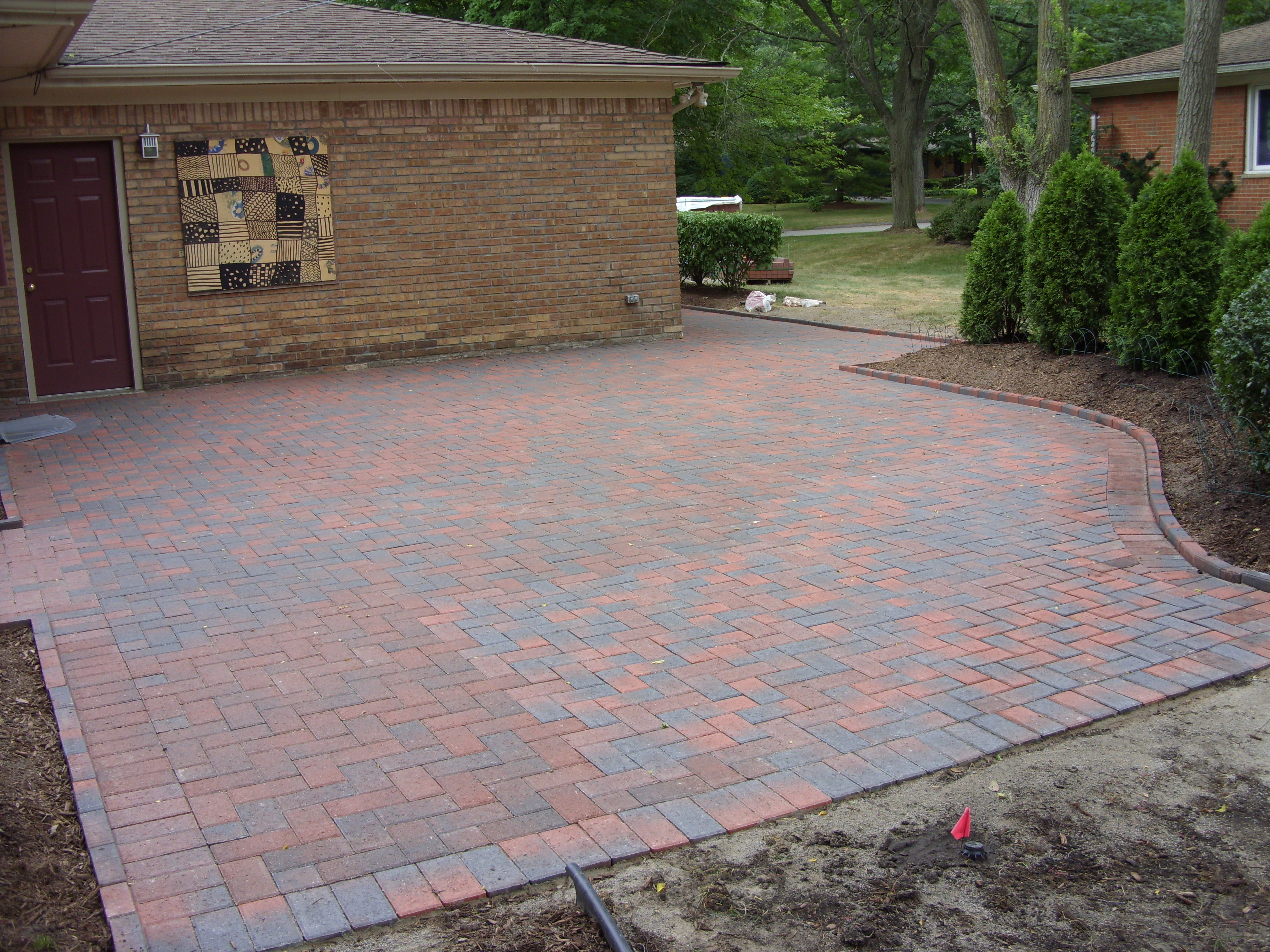 Brick Pavers Total Lawn Care Inc Full Maintenance